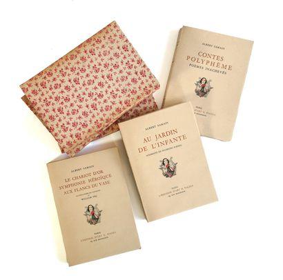 Albert SAMAIN, Works (three volumes)  Published...