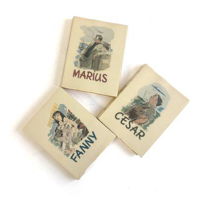 Marcel PAGNOL, Marius, Fanny, César (three...