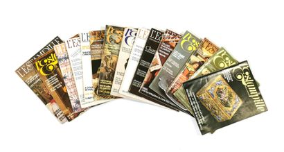 THE ESTAMPILLE  Suite of fifteen magazines...