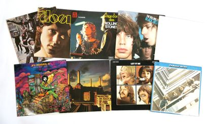 Set of 8 vinyl records from the 60's/70's...