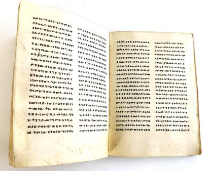 Ethiopian Christian ritual manuscript written...