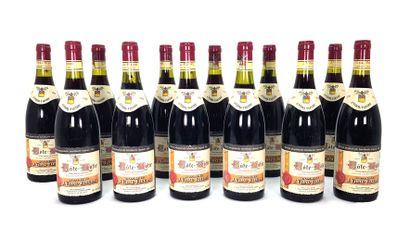 12 Bouteilles Domaine J. Vidal Fleury...