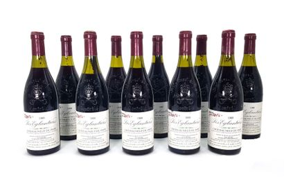 10 Bouteilles Domaine Pierre Deydier 1988,...