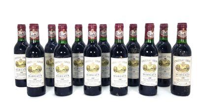 12 1/2 bouteilles Château Siran 1989,...