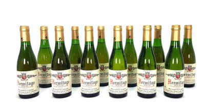 12 1/2 bouteilles Domaine Jean-Louis Chave...