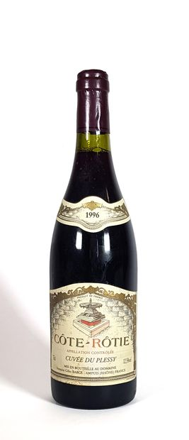 1 Bouteille Domaine Gilles Barge 1996,...