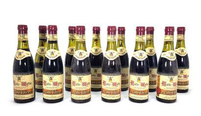 12 1/2 bouteilles Domaine J. Vidal Fleury...