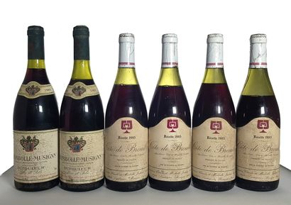 2 bouteilles Chambolle-Musigny, Maison Dufouleur...