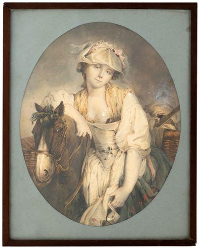 Attribué à Antonio MORIEL Y GARCIA (1827-...