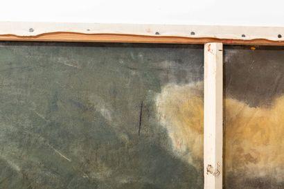 École de l'Abstraction Lyrique dans l'esprit de Georges MATHIEU (deuxième moitié...