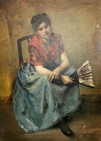 Louis BOCHARD (École du XIXe siècle)  Femme...