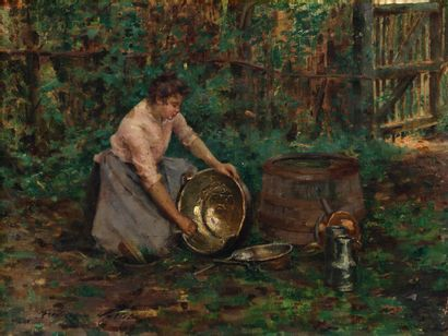 Frédérique VALLET-BISSON (1862-1948)  Jeune...