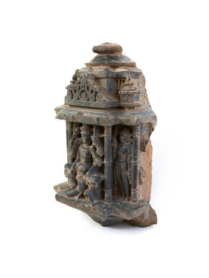 Inde, XIe-XIIe siècle  Élément architectural...