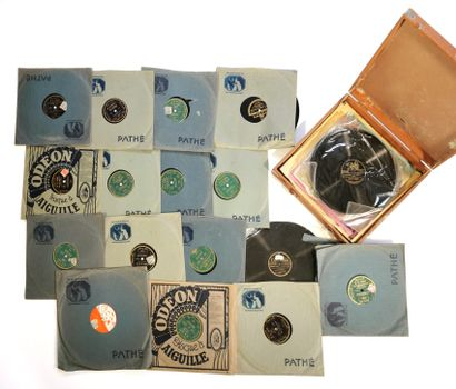 Ensemble de vingt-six disques microsillon...