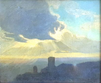 Charles-Marie DULAC (1866-1898)  Assisi,...