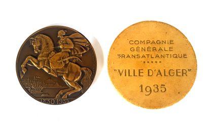 Raymond DELAMARE, 1935  Médaille de la Compagnie...