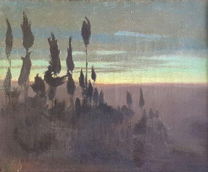 Charles-Marie DULAC (1866-1898)  Fiesole,...