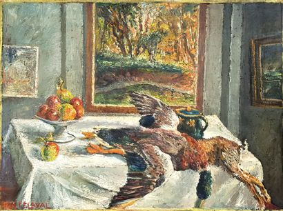Fernand LAVAL (1886-1966)  Nature morte au...