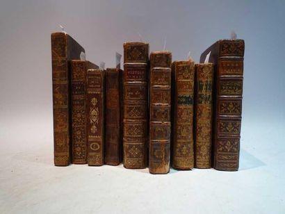 Ensemble de livres anciens dépareillés comprenant:...