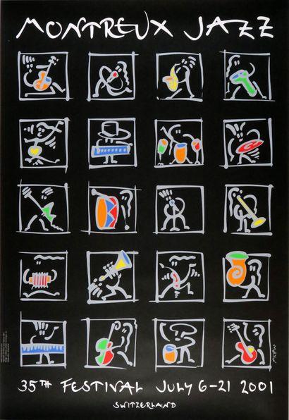 Affiche originale de l'artiste suisse Matthias...