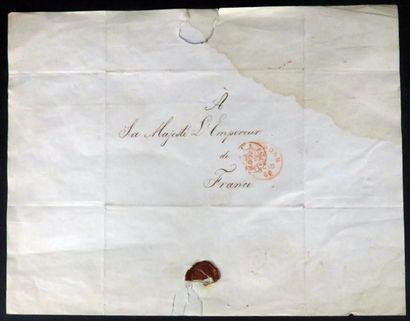 Deux lettres adressées à l'Empereur Napoléon...