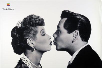 Affiche originale «Lucille Ball et Desi...