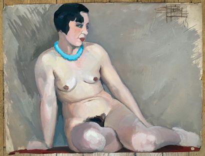 PIERRE LÉVY dit DARDEL (FRA/ 1917-1991) Femme...