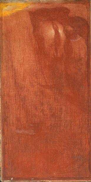 Maurice Langankens (ou Langaskens) (1884-1946) Cheval...