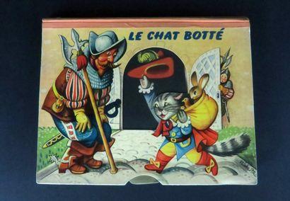 Le chat botté. Livre avec images en reliefs...