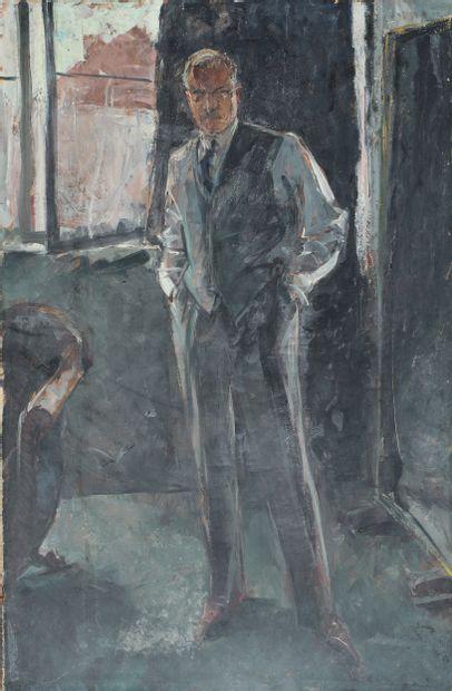 Ecole française du XXème siècle Jeune homme...