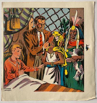 PIERRE LÉVY dit DARDEL (FRA/ 1917-1991) Trois femmes et un homme dans un intérieur...