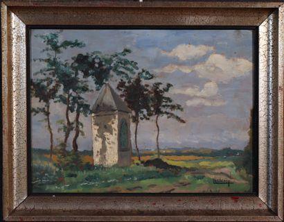 Lucien LECLERQ (1895-1955) Paysage à la...
