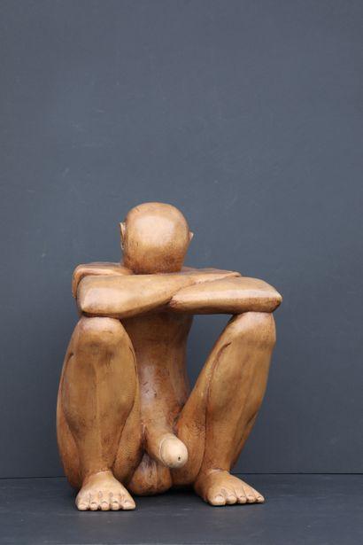 Ecole moderne. Le songe érotique. Sculpture...
