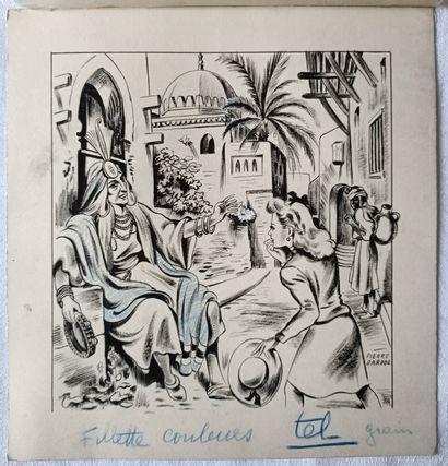 PIERRE LÉVY dit DARDEL (FRA/ 1917-1991)...
