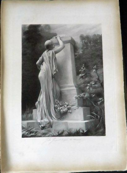 Catalogue de la Société Française des Amis des Arts pour l'année 1892, n°168, attribué...