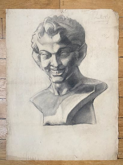 PIERRE LÉVY dit DARDEL (ENG/ 1917-1991) I. Study according to the laughing Satyr,...
