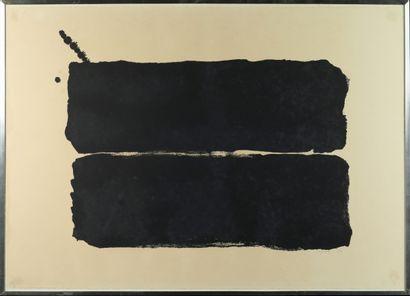 Bram Bogart (1921-2012) Composition Lithographie...