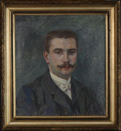 Numa-François GILLET (1868-1940) Portrait...
