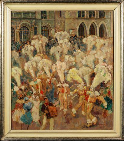 FERNAND VERHAEGEN (BEL/ 1883-1975)  Carnaval...