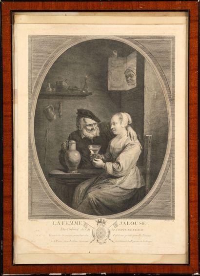 Jacques Philippe Le Bas (1707-1783), d'après...