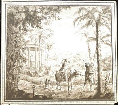 François LEFEBVRE (1747-1817), La fuite...