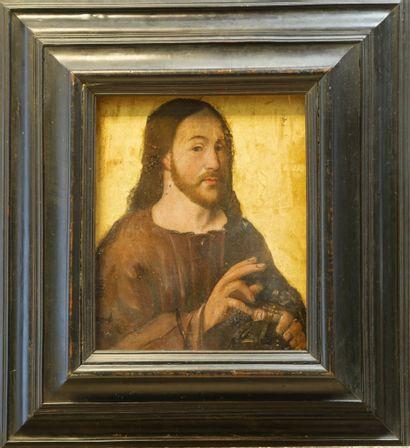 Ecole de la Renaissance. Salvador Mundi....