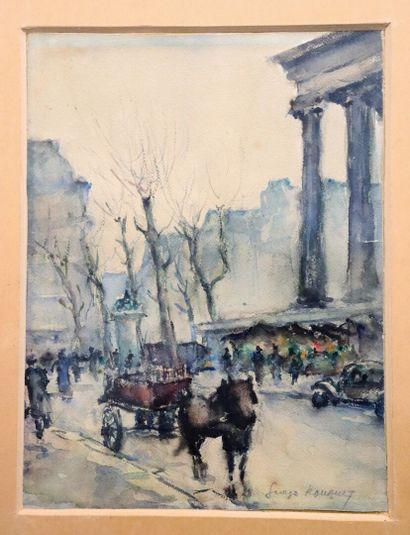Georges Dominique ROUAULT (1904-2002).  Paris,...