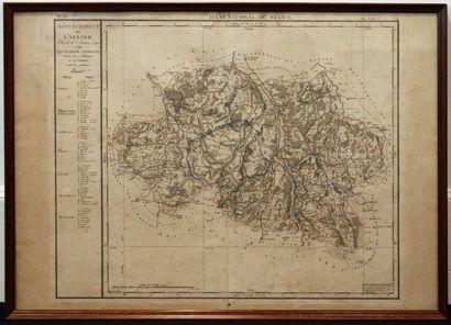 Pierre DUMEZ (1757-1794) pour l'Atlas national...