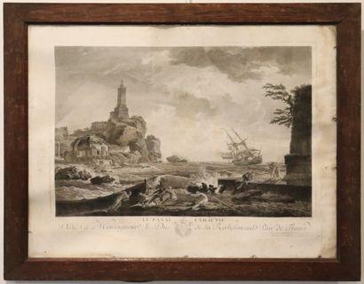 Claude-Joseph VERNET (1714-1789), gravé...