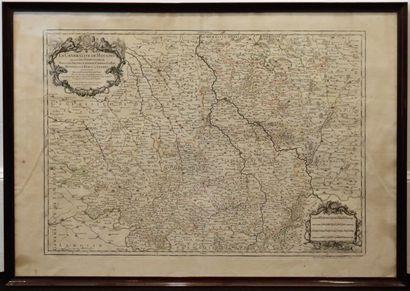 Alexis-Hubert JAILLOT (1632-1712) Géographe...