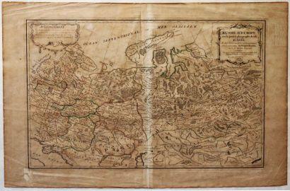 Jean JANVIER (1746-1779) Cartographe  Carte...