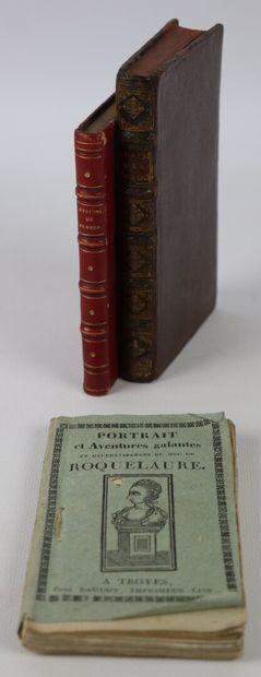 ANCILLON (Ch.)]. Traité des eunuques. 1707....