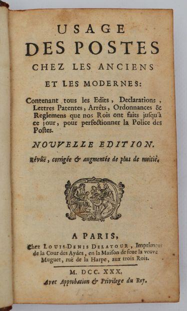 LE QUIEN DE LA NEUFVILLE (Jacques)]. Usage...
