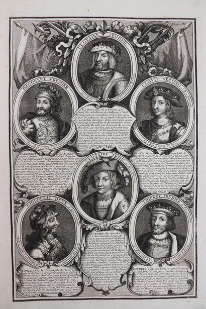 ANONYME. Les Fastes de la monarchie françoise,...
